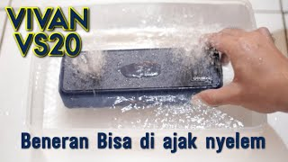 VIVAN VS20 // Unboxing, Audio Sample & Water Test