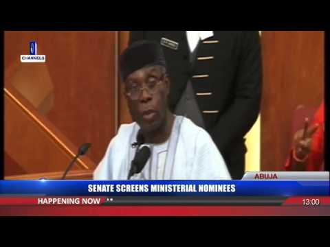 Senate Screens Audu Ogbeh As Ministerial Nominee 13/10/15 Pt.2