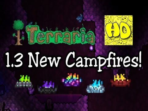 Terraria 1 3 Colorful Campfires (1 3 items)