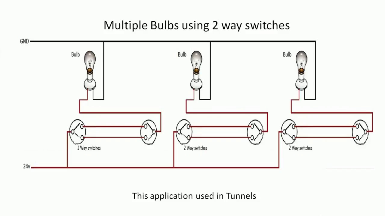 Multi way light switch logic!! 3-way Wiring - YouTube