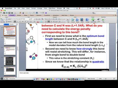 lecture 4 advanced medicinal chemistry: Energy calculation and docking