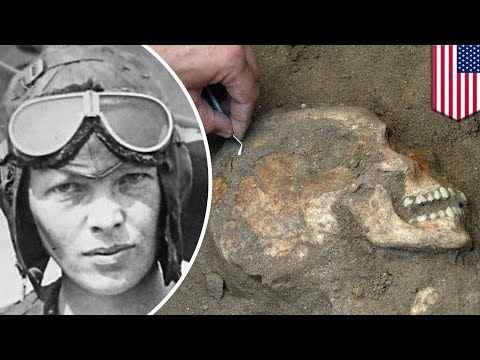 Amelia Earhart: Bones discovered on Pacific island in 1940 might be legendary pilot - TomoNews