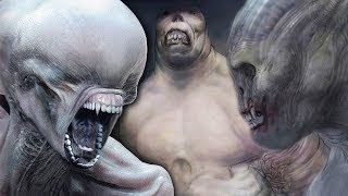 CREATURES YOU NEVER SAW IN ALIEN: COVENANT