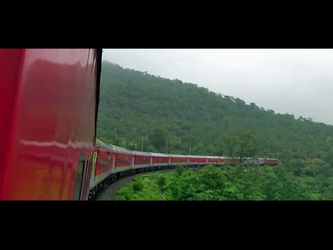 ITARSI to BHOPAL : Train Journey with Extended Coverage of BUDNI Ghats (Indian Railways)