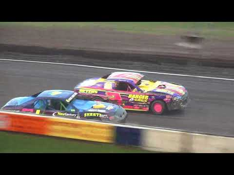 IMCA Stock Car feature Benton County Speedway 7/22/18
