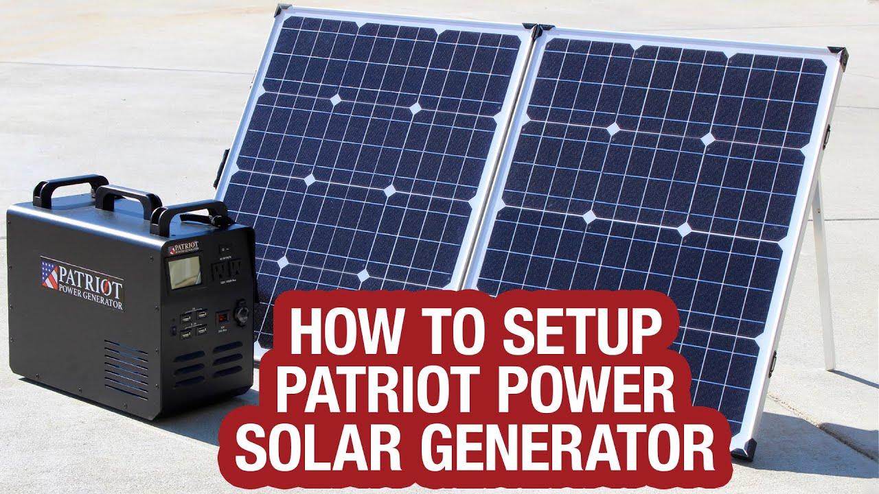 generator patriot power easy
