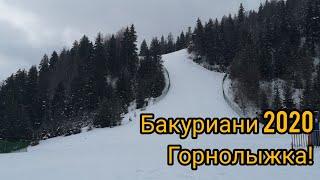 Грузия ч2 Горнолыжный курорт Бакуриани 2020