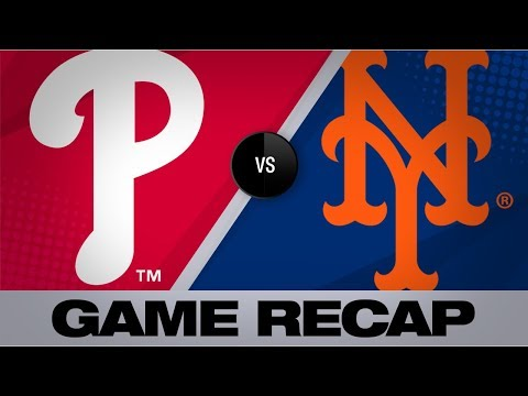 Trio of home runs help Phillies down Mets | Phillies-Mets Game Highlights 9/8/19