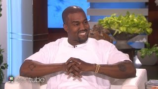 kanye west goes on massive rant on ellen leaves her speechless