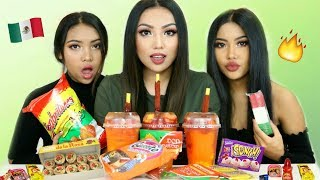 Asian Girls try Mexican Snacks !!!!