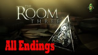 The Room Three (iOS/Android) All Endings Gameplay HD