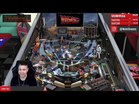 Stream Gameplay | Universal Classics | Pinball FX3 | Xbox One