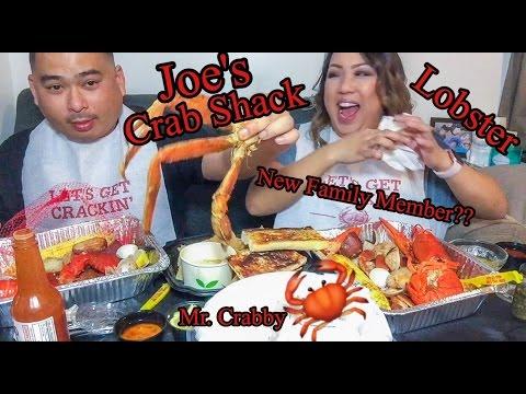 SEAFOOD MUKBANG with my Boyfriend: Joe's Crab Shack