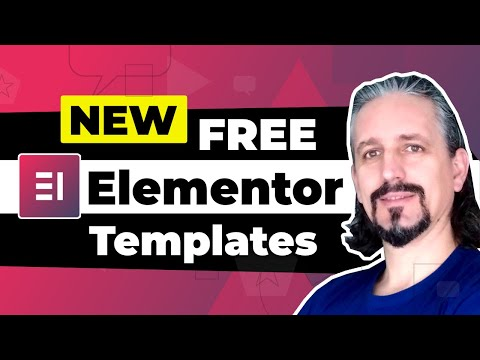 Fresh and Free Elementor Templates for Full WordPress Websites 🙀
