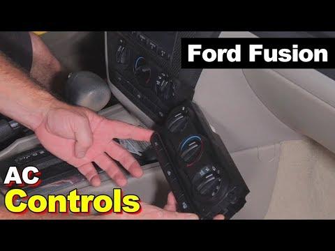 Ford Fusion HVAC Control Head Switch