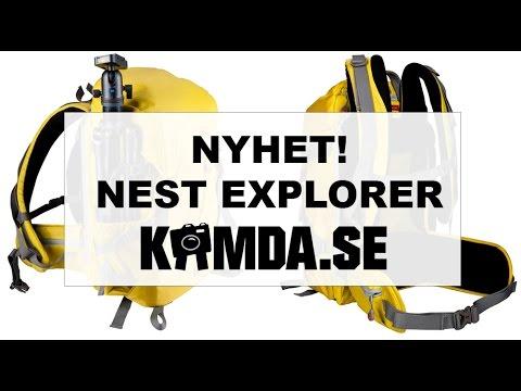 Kameraryggsäckar från Nest - Explorer 300 SMALL/LARGE | Kamda.se