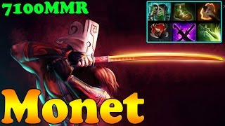 Dota 2 - Monet 7100 MR Plays Juggernaut Vol 1 - Ranked Match Gameplay!