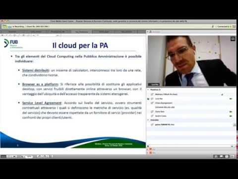 Webinar - Disaster Recovery & Business Continuity - FPA/Interact