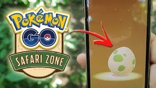 ¡ABRIENDO HUEVOS ESPECIALES del SAFARI ZONE de Pokémon GO! [Keibron]