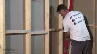 Installing Gyprock plasterboard - Plasterboard walls and ceilings