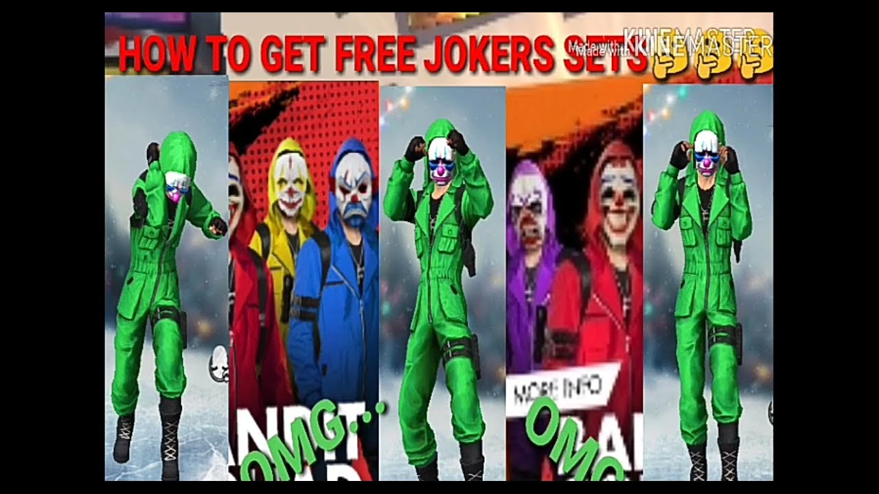 How To Get Free Joker Set In Free Fire Free Fire Free Fire Joker Set Free Fire India