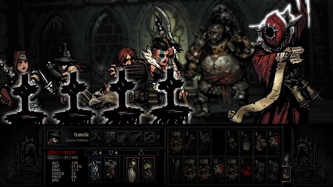 Darkest Dungeon Necromancer Lord Boss Fight Youtube