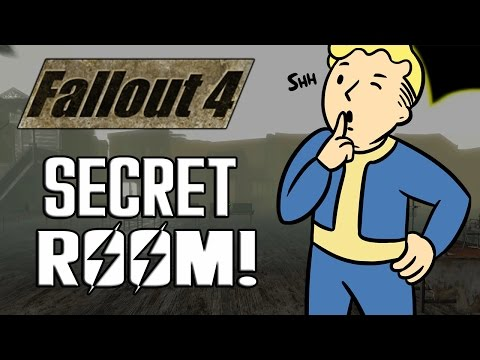 FALLOUT 4 SECRET ROOM WITH ALL ITEMS/WEAPONS/ARMOR!