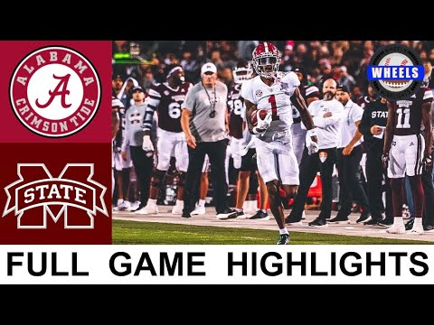 No. 5 Alabama vs. Mississippi State college football video highlights ...