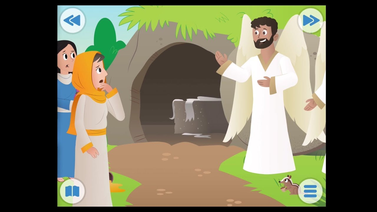 La Resurrección De Jesús Historias De La Biblia Para Niños Biblia Para Niños Abraham Vlogs Youtube