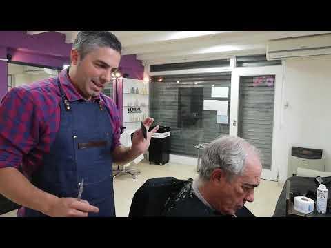 Como Es La Tecnica Peine Y Tijera Corte Caballero Clasico 2019