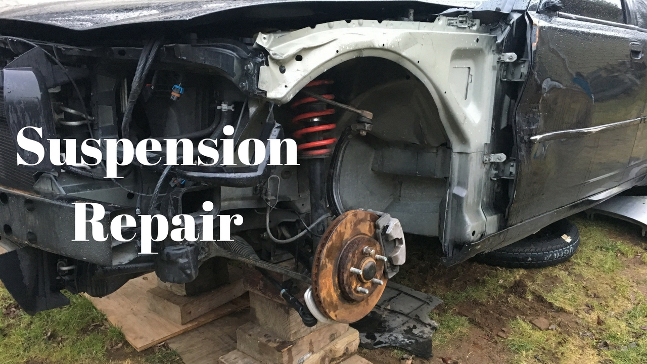 2006 dodge charger rebuild-suspension