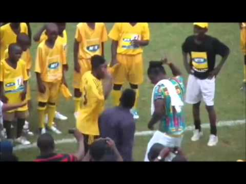 Adebayor vs Asamoah Gyan (DANCE)
