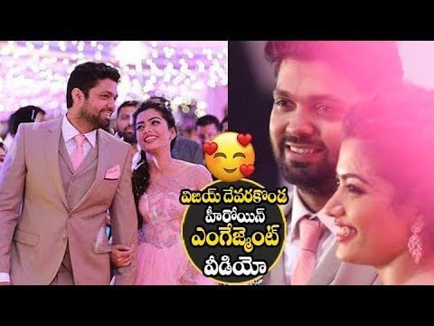 Vijay devarakonda Heroine rashmika mandanna Engagement Video   Geetha Govindham Rashmika Mandanna