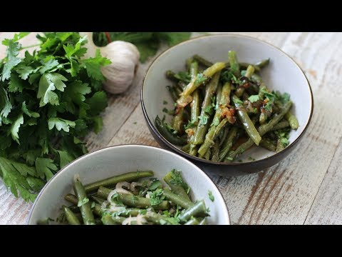 Spring Green Beans 2 Ways : Cold Salad & Pan Fried   French Bistro Recipes