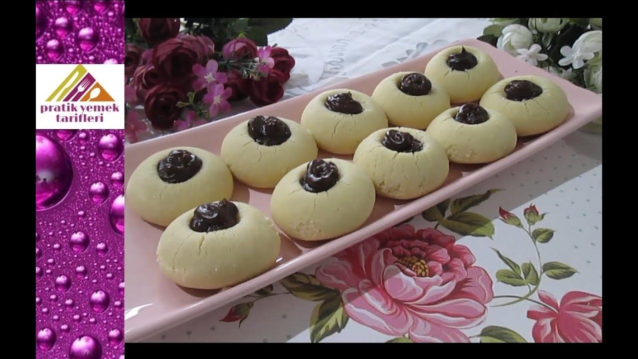 Üç malzemeli kolay toz pudingli kurabiye tarifi – 3 ana malzemeli margarinsiz kurabiye nasıl yapılır
