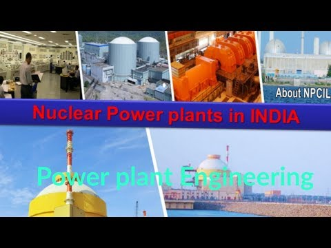 Nuclear Power plants in INDIA | Nuclear power stations