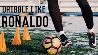 How To Dribble Like Cristiano Ronaldo   5 Easy Ronaldo Skills