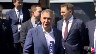 """Минниханов рассказал про возможности беспилотного """"КАМАЗа"""""""