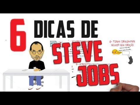 6 dicas de STEVE JOBS para que VOCÊ Seja Uma Pessoa Melhor