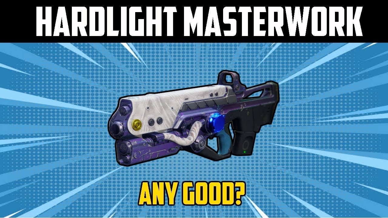 Destiny 2  Hard Light Masterwork (Exotic Catalyst Review from an average  guy)