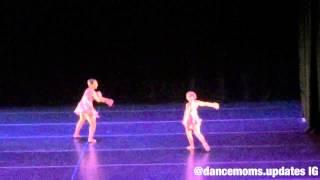 the aldc s recital 2015   mackenzie nia s duet the little girl down the lane