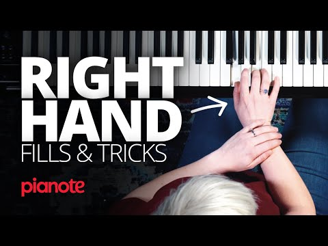 Right Hand Fills And Tricks On The Piano