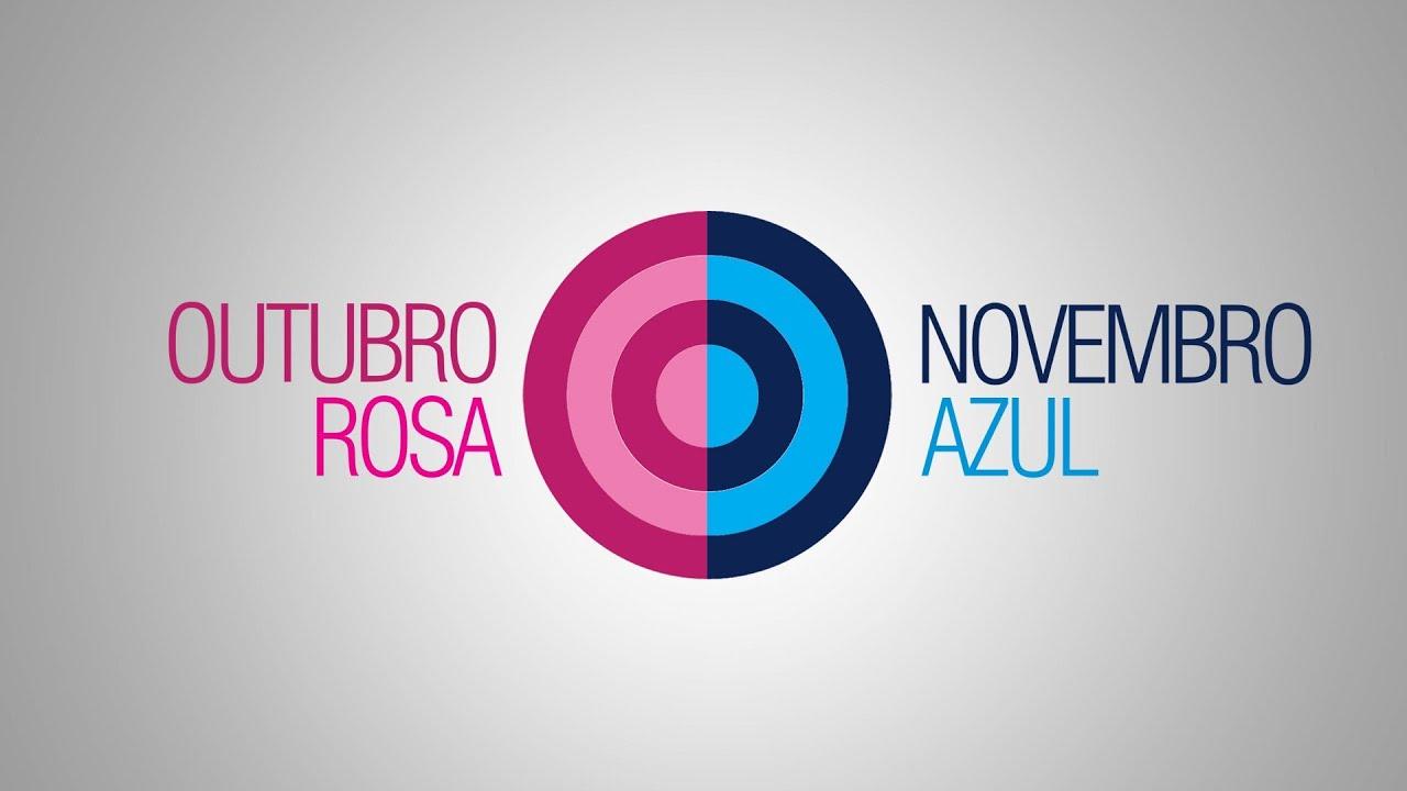 OUTUBRO ROSA NOVEMBRO AZUL YouTube -> Decoração De Outubro Rosa E Novembro Azul