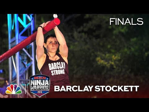 American Ninja Warrior - Barclay Stockett at the Dallas City Finals (Sneak Peek)