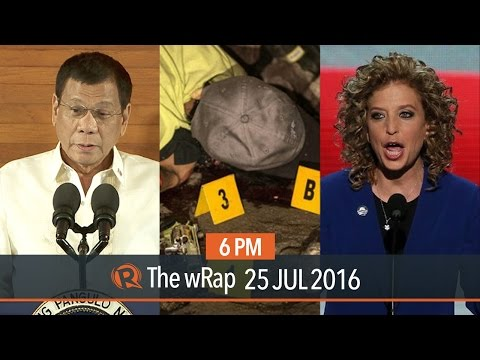 SONA, illegal drugs, Democratic Party | 6PM wRap