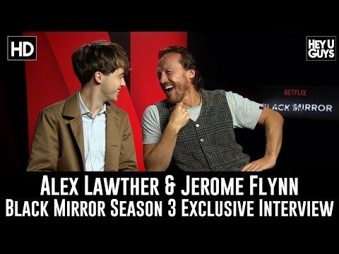 Jerome Flynn & Alex Lawther Exclusive   Black Mirror Season 3