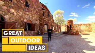 Italian-Style Hand-Built Castle Tour | Outdoor | Great Home Ideas