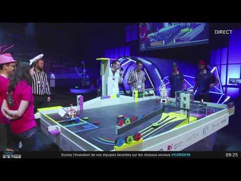 Découvrez le club Robotik de l'ISAE-SUPAERO participant à la coupe de France 2019 de robotique
