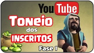 TORNEIO DOS INSCRITOS ! - FASE 1 - CLÃ Gustovow - Clash Of Clans