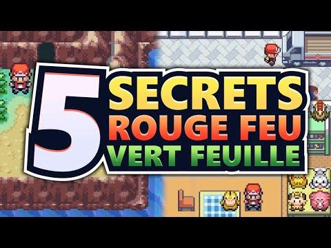 5 SECRETS SUR POKÉMON ROUGE FEU & VERT FEUILLE
